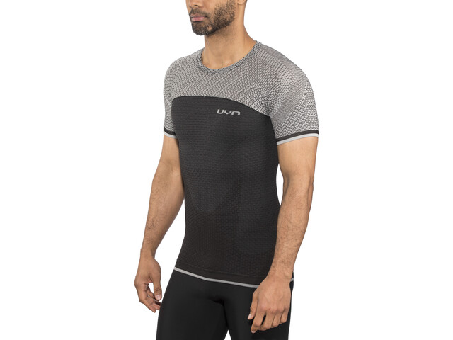 UYN Running Alpha OW Chemise manches courtes Homme, charcoal/sleet grey